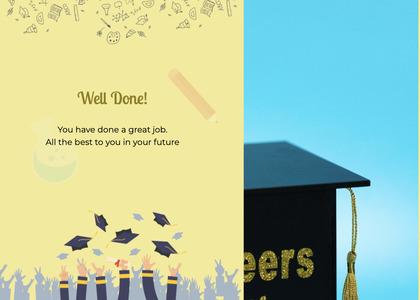 graduate card 28 advertisement poster