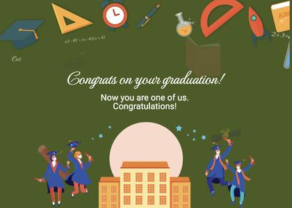 graduate card 52 advertisement flyer