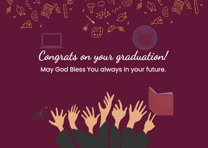 graduate card 53 text mail