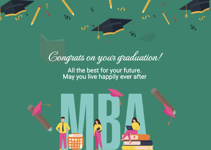 graduate card 57 advertisement poster
