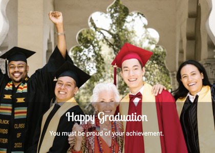 graduate card 58 person human
