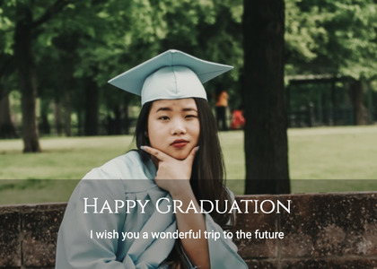 graduate card 62 person human