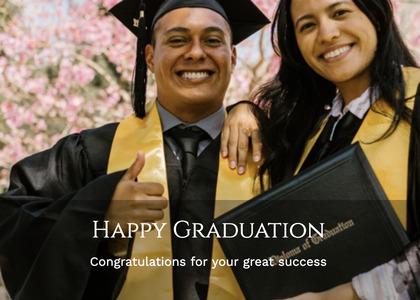 graduate card 64 graduation person