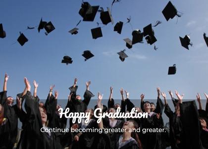 graduate card 68 graduation person