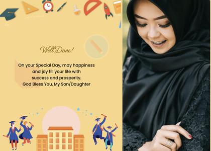 graduate card 8 poster advertisement