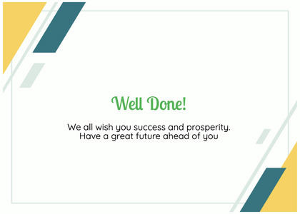 graduate card 86 text business card