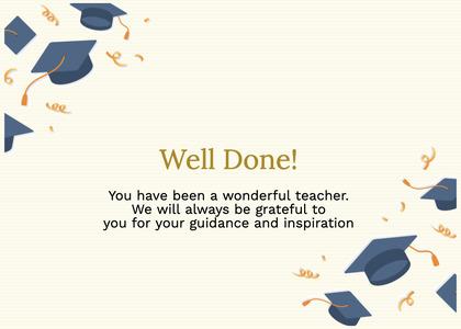 graduate card 98 text graduation