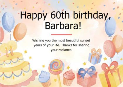 greetings card 13 food birthdaycake