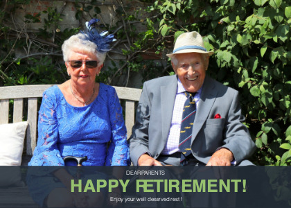 happyretirement card 2 furniture person