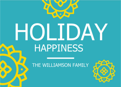holiday card 10 poster advertisement