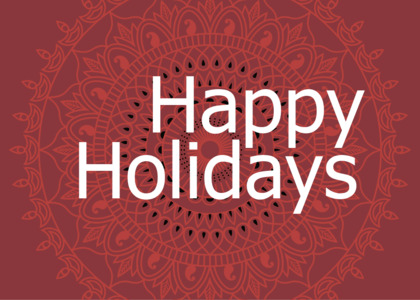 holiday card 8 text novel