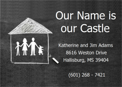 housemoving card 8 text outdoors