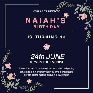 invitation card 7 advertisement poster