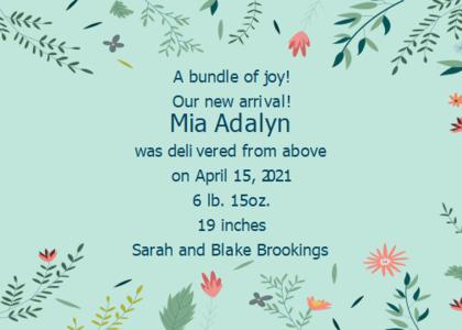 joy card 10 poster advertisement