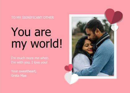 love card 10 hug person
