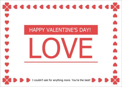 love card 12 advertisement poster