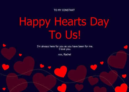 love card 8 text graphics