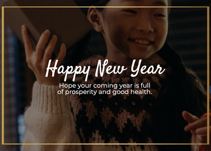 newyear card 120 clothing person