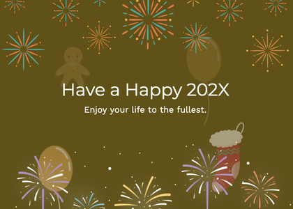newyear card 150 nature outdoors