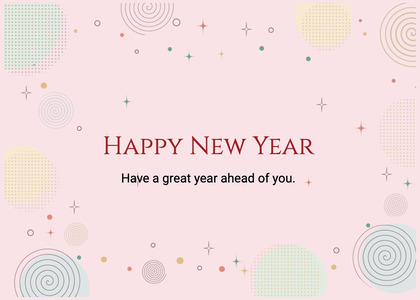 newyear card 198 text page