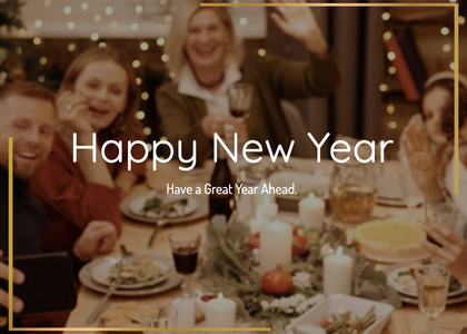 newyear card 204 person bakery