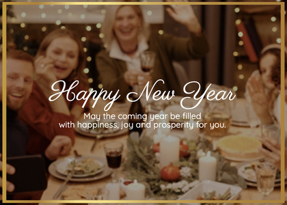 newyear card 206 person bakery