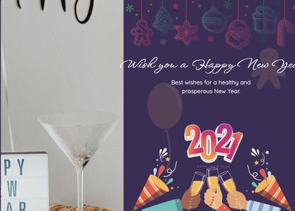 newyear card 92 flyer brochure