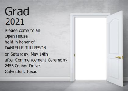 openhouse card 7 door text