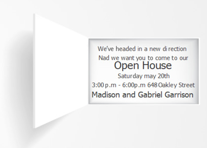 openhouse card 9 text business card