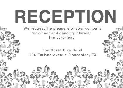 reception card 6 floraldesign graphics