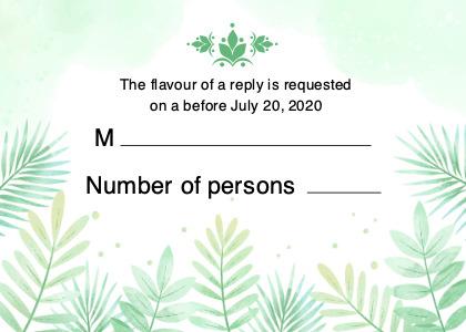 respond card 2 plant text