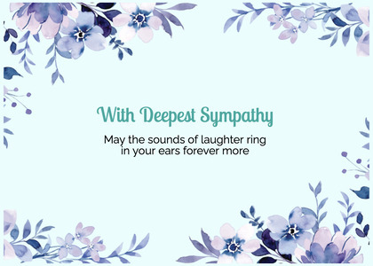 sympathy card 101 graphics art