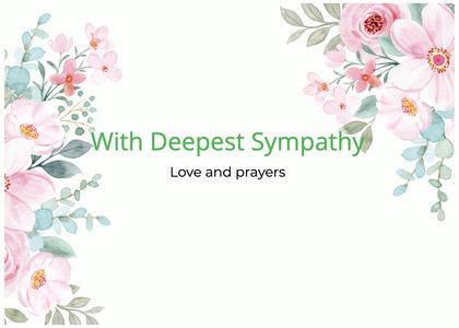 sympathy card 108 graphics art
