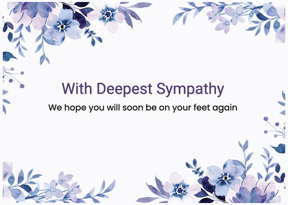 sympathy card 109 graphics art