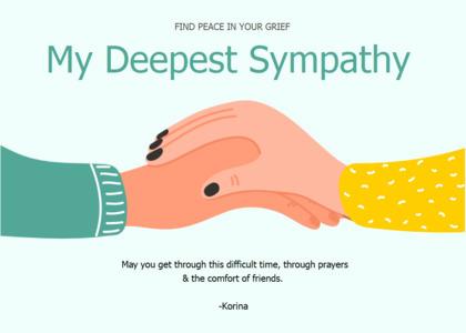 sympathy card 11 plant food