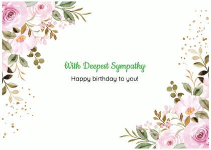 sympathy card 110 graphics art