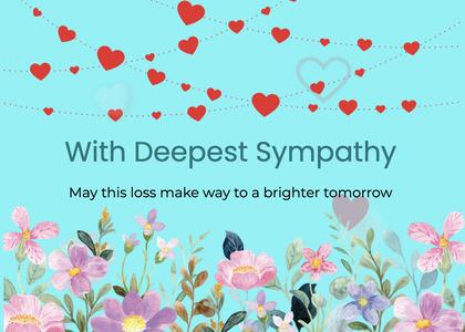 sympathy card 148 graphics art