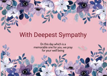 sympathy card 149 graphics art