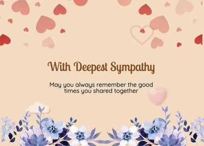 sympathy card 154 graphics art