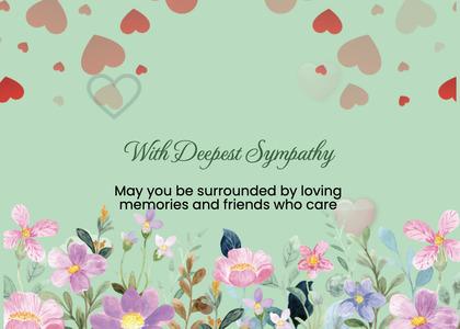 sympathy card 161 envelope mail
