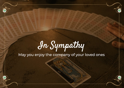 sympathy card 17 staircase temptag