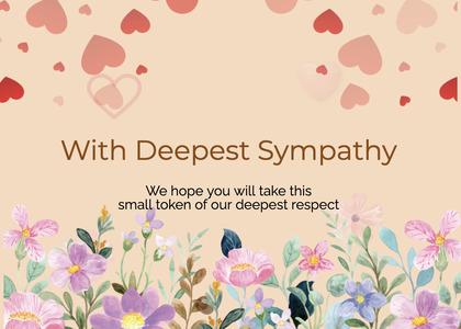 sympathy card 171 envelope mail