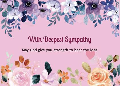 sympathy card 172 graphics art