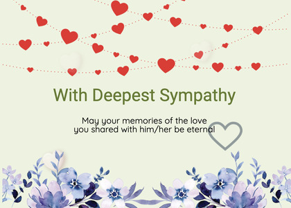 sympathy card 174 graphics art