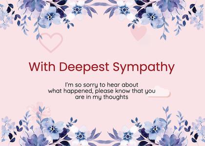 sympathy card 181 graphics art