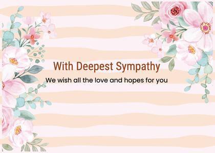 sympathy card 207 graphics art
