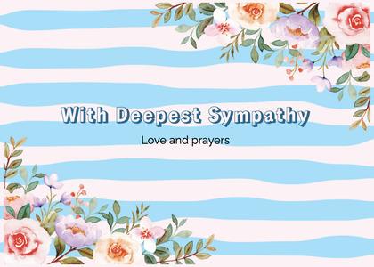 sympathy card 213 graphics art