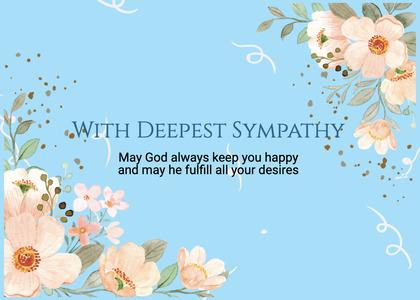 sympathy card 214 graphics art