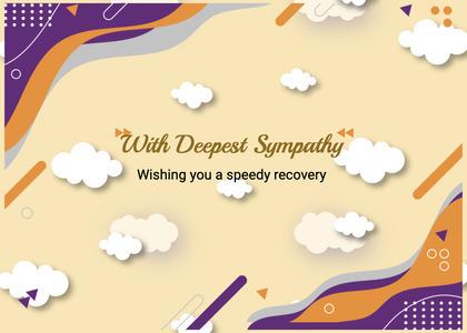 sympathy card 216 birthdaycake food