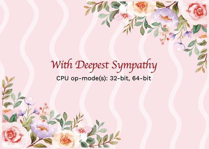 sympathy card 219 graphics art
